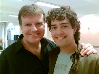 with Lee Mead